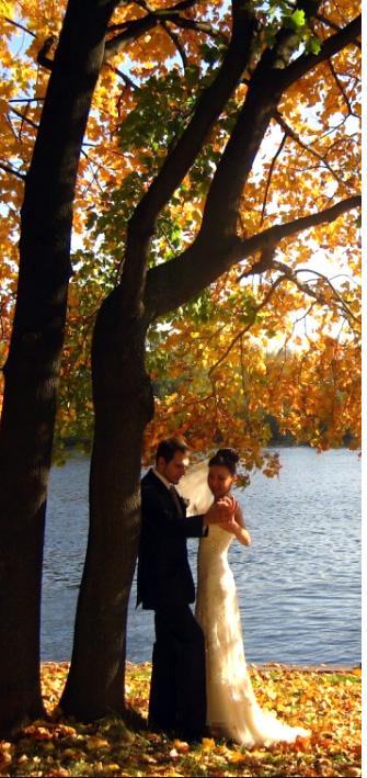 осенняя свадьба в октябре