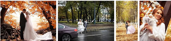 фото со свадеб в октябре