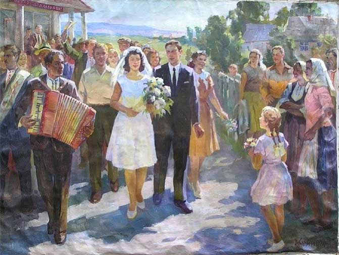 пример Светского брака