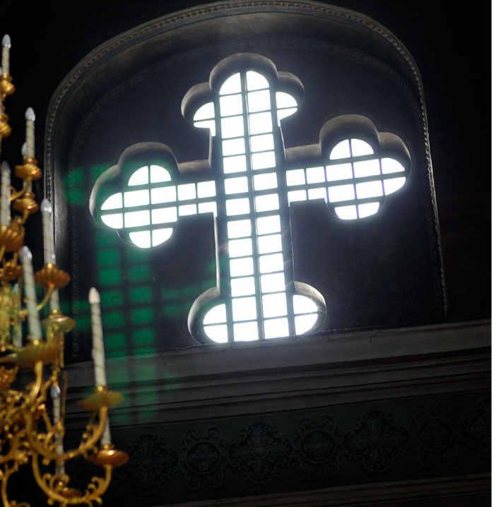 крест и венчание