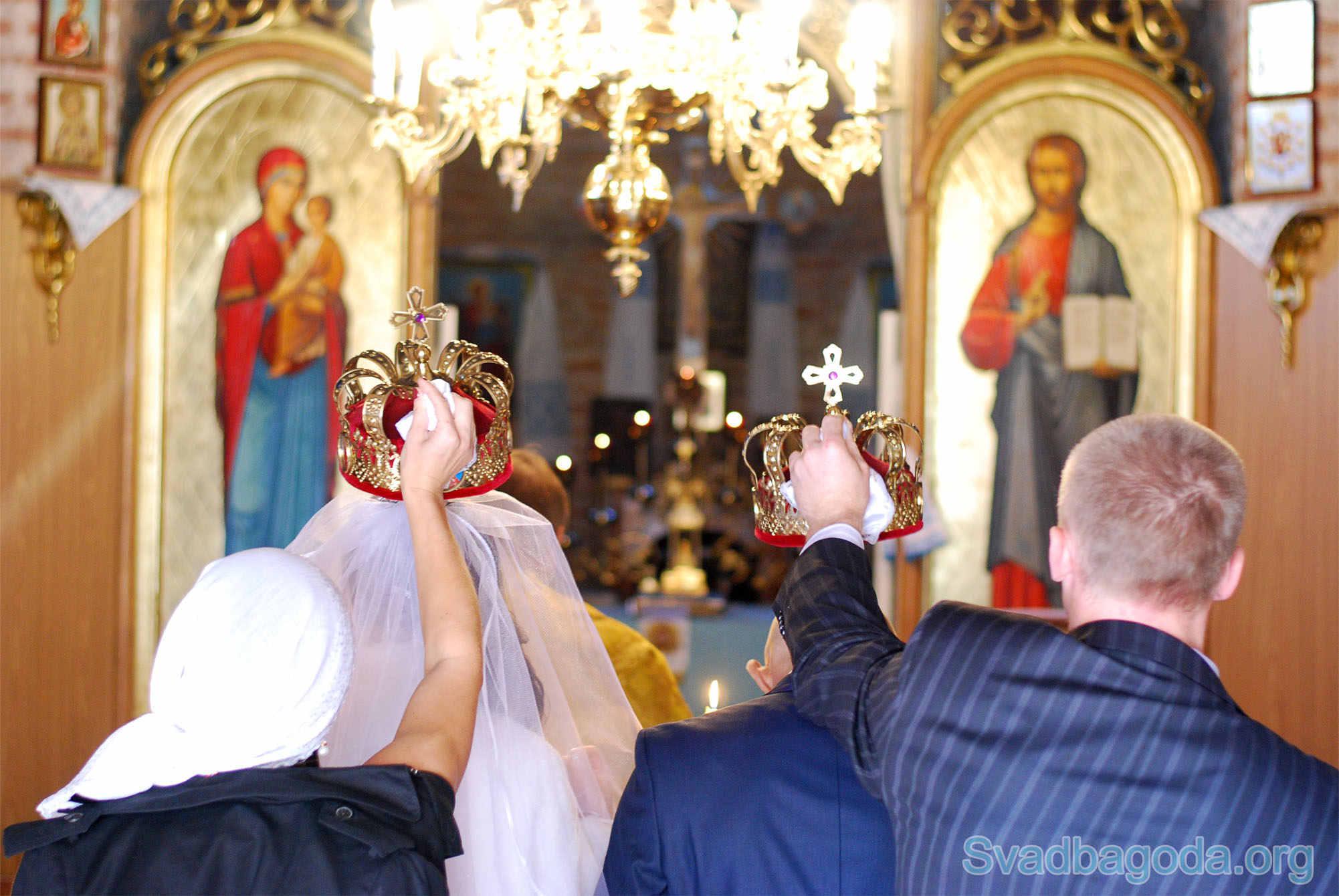 фото обряда венчания в церкви