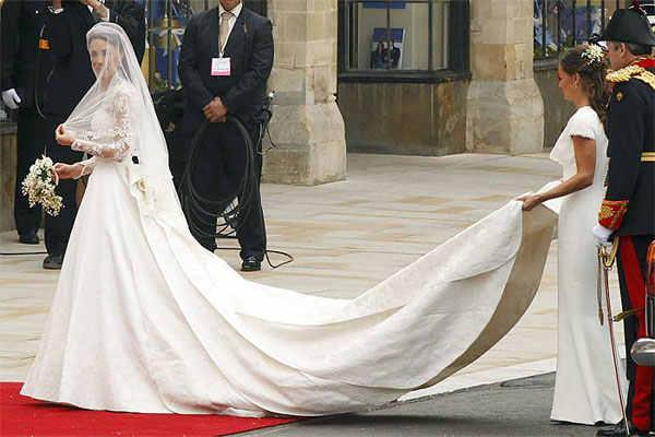 Подвенечное платье Кейт Мидлтон