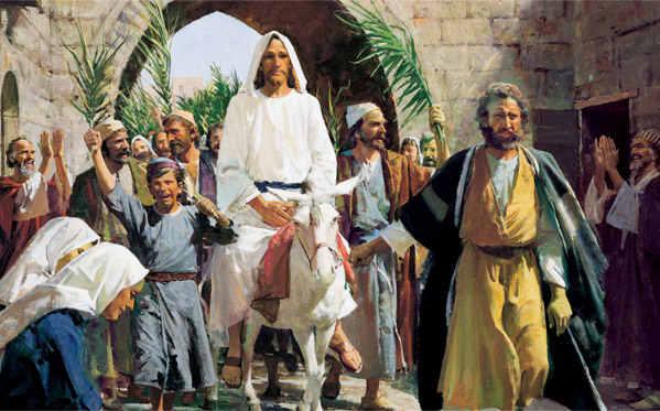образ Вербного Воскресенья