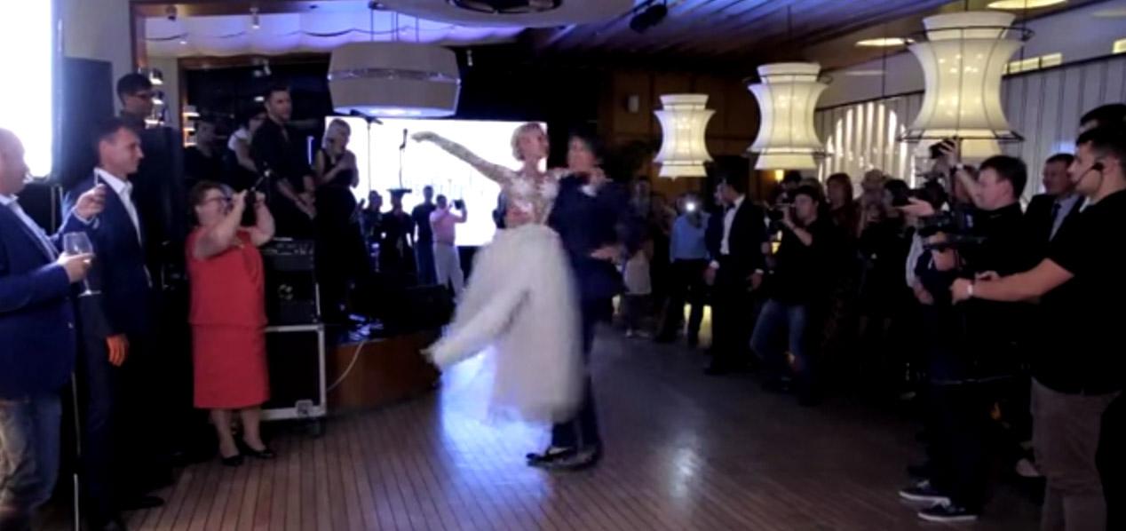 Волосожар и Траньков первый танец