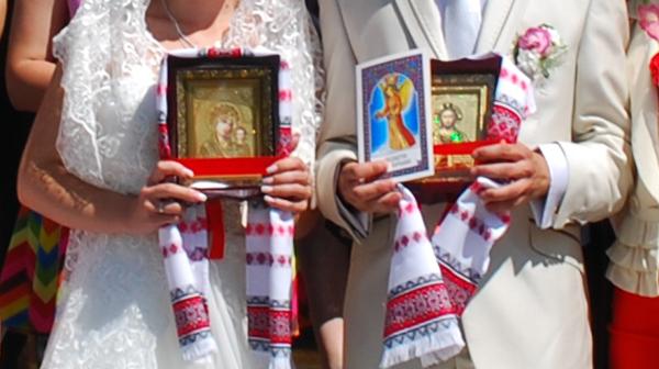 иконы на венчание