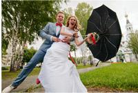 фото сильного ветра на свадьбе