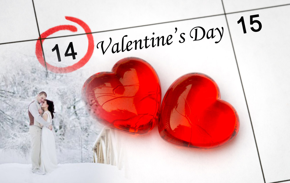 Свадьба 14 февраля - День Святого Валентина