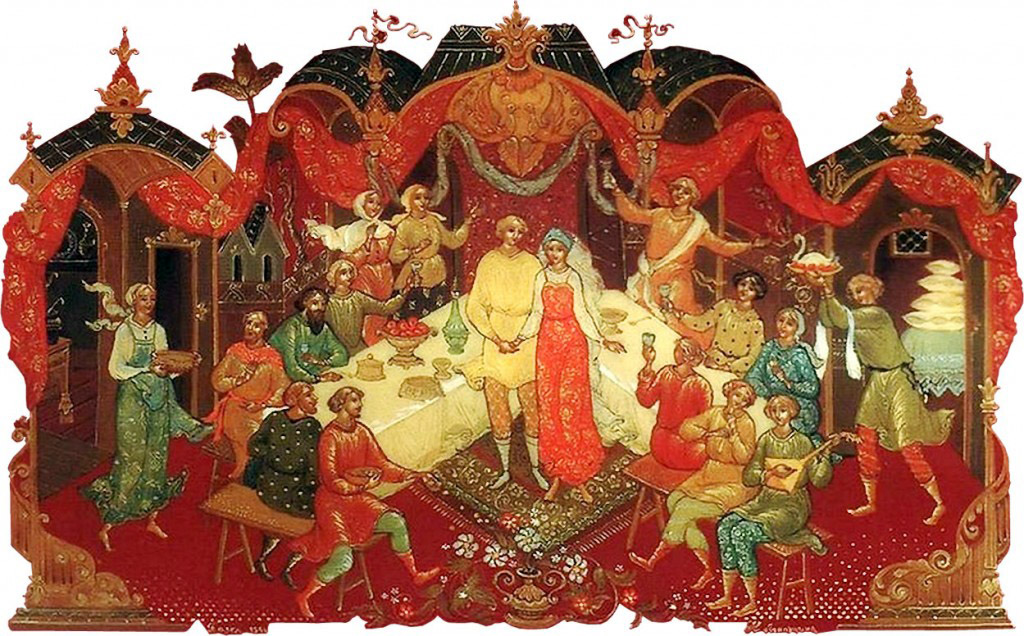 старинная свадьба на красную горку