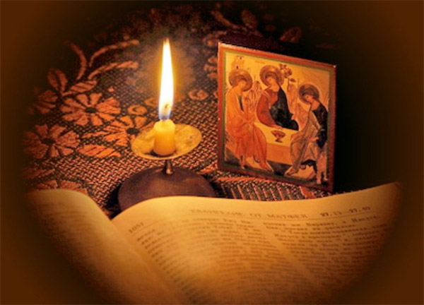 Моление в Великий пост