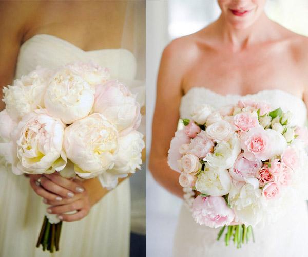 pion wedding bouquet
