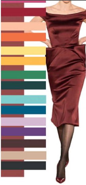 модные цвета