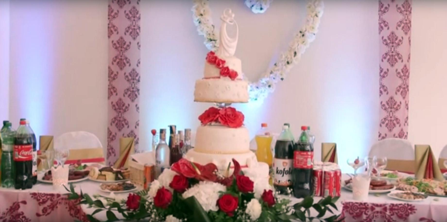 Цыганский свадебный торт в Словении