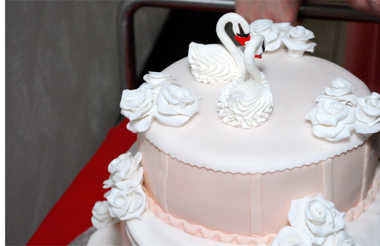 економия на свадебном торте