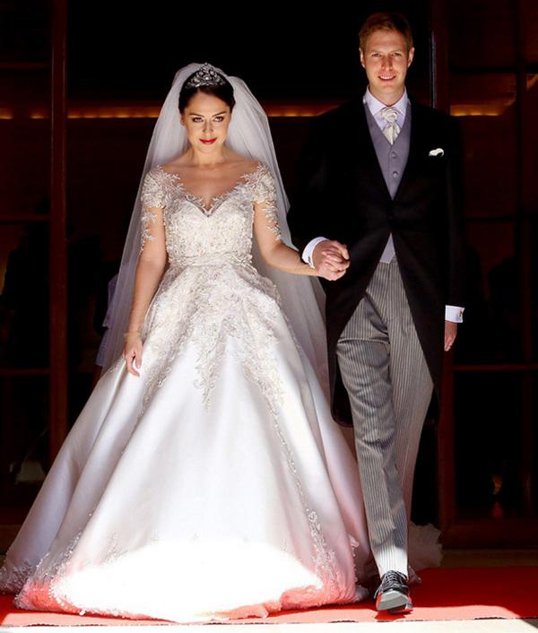 Элия Захария - свадебное платье