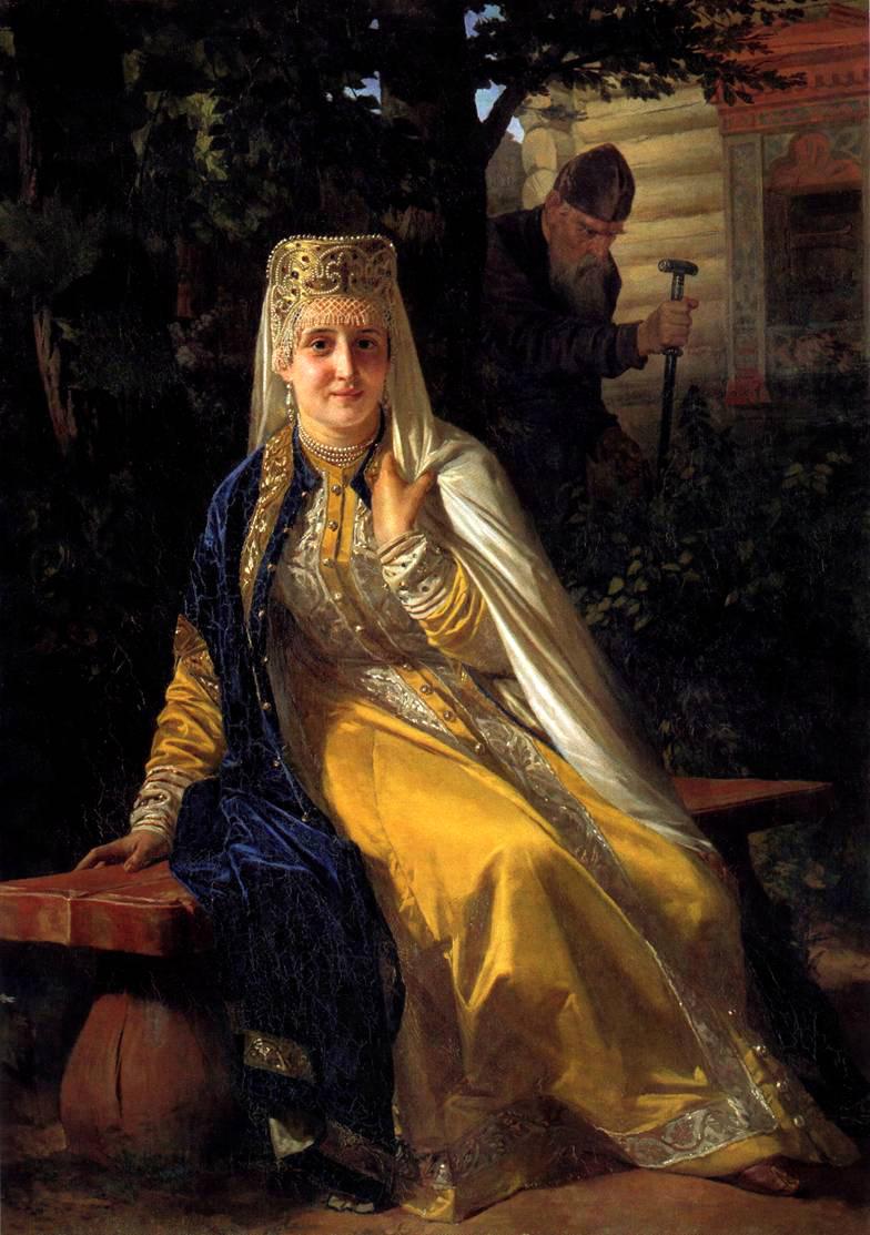 Василиса Мелентьева - жена Ивана Грозного