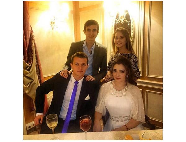 Свадьба Мустафина и Зайцева
