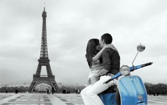 предложение руки и сердца в Париже
