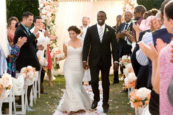 межрасовая свадьба