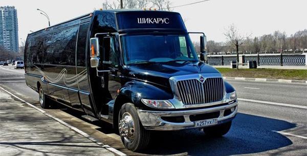 фото клубного автобуса Шикаруса