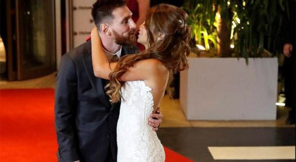 фото со свадьбы Месси