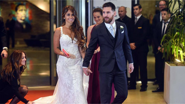 свадьба лионеля месси и его жены