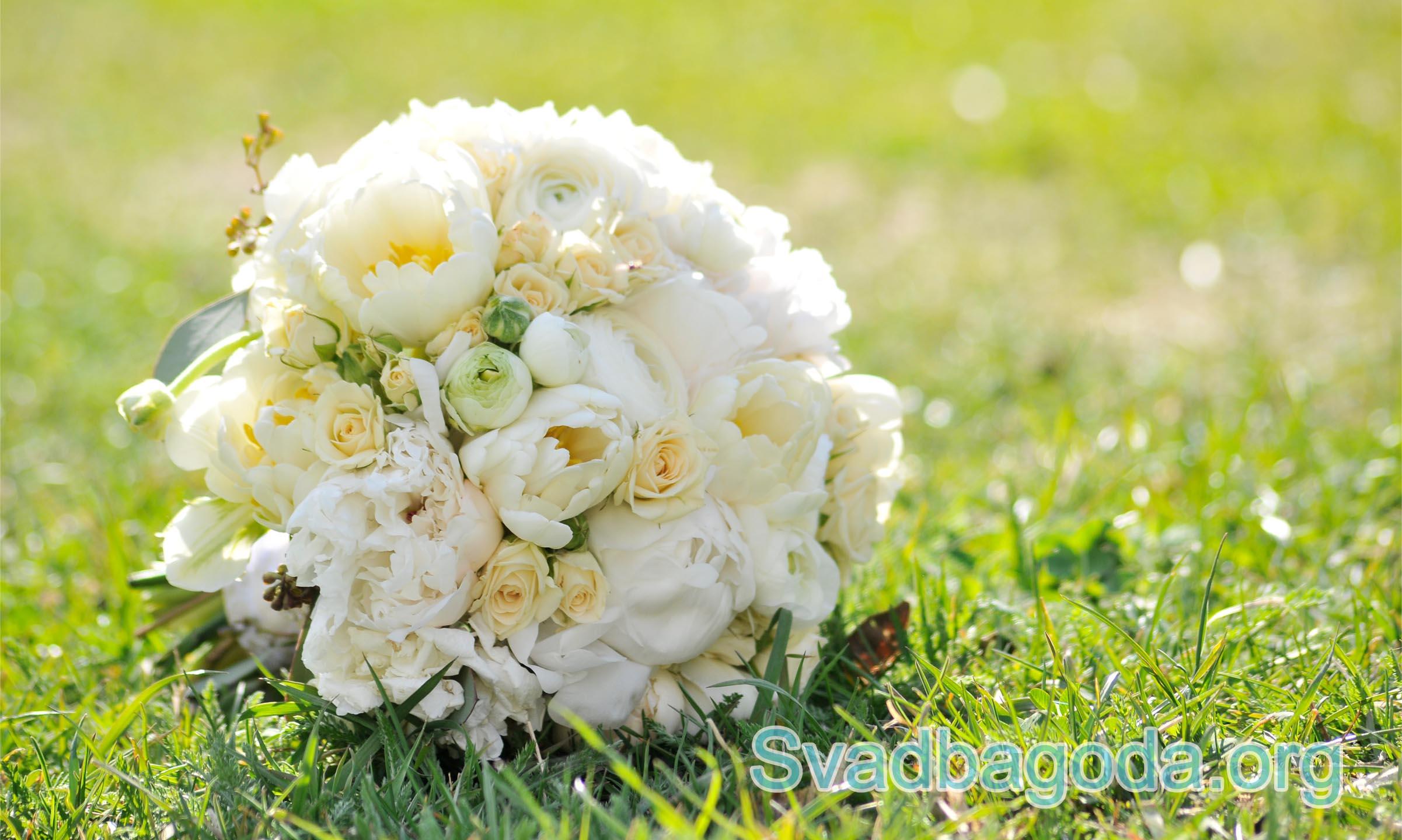 свадебный букет на свадьбу в мае