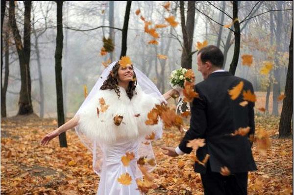 Свадьба в октябре 2017
