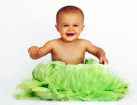 рождения ребанка из капусты