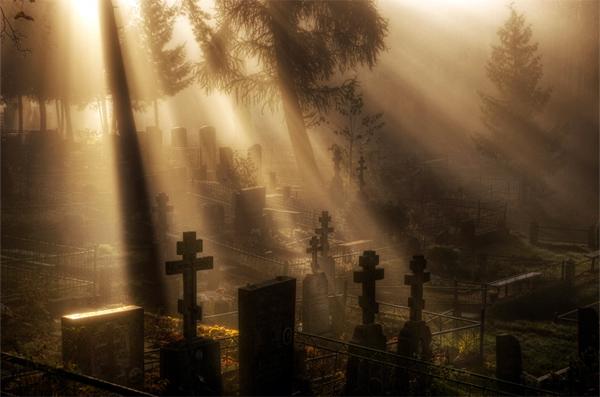 Дмитриевская родительская суббота на кладбище