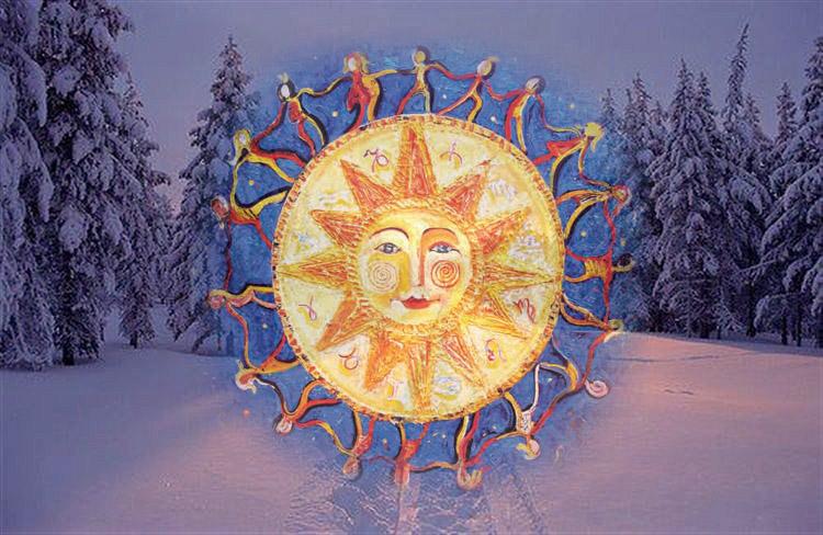 Картинки по запросу зимнего солнцестояния