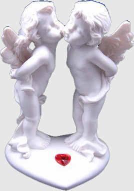статуетки ангелов
