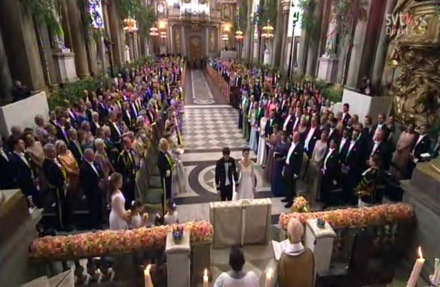 Свадьба принца Карла Филиппа и София Хэллквист
