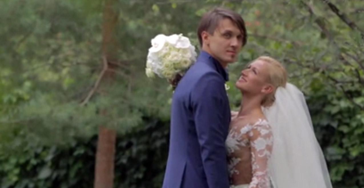 татьяна волосожар и максим траньков на своей свадьбе
