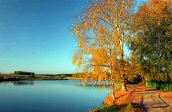 бабье лето осенью