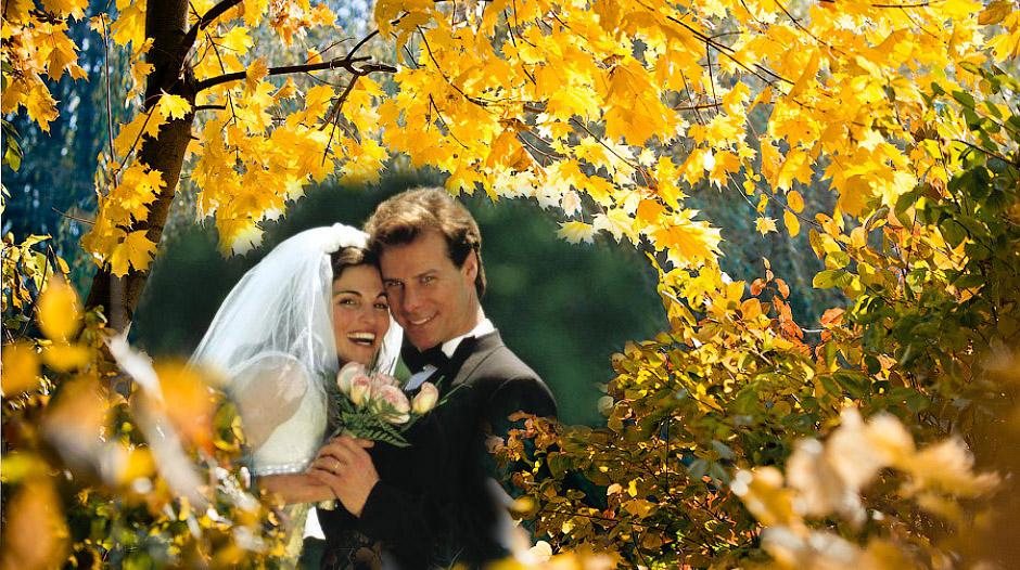 свадьба в бабье лето