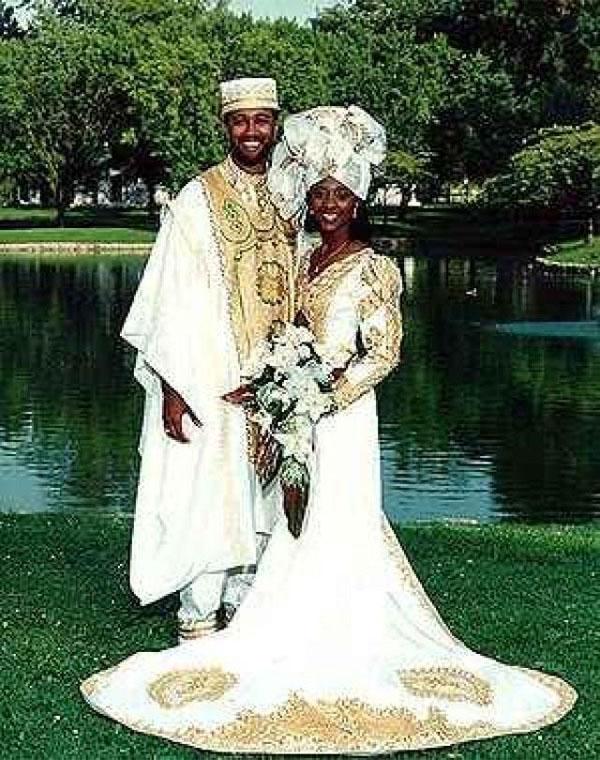 невеста в Африке