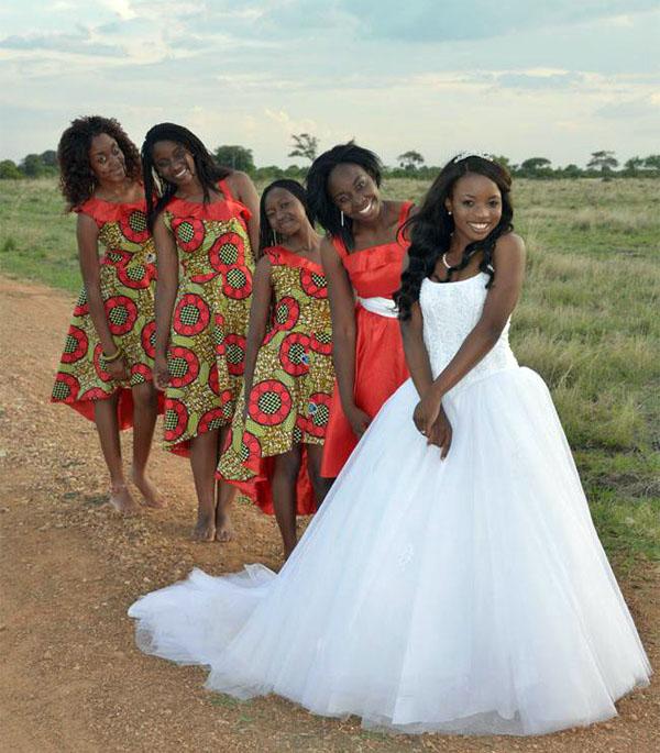 африканская невеста