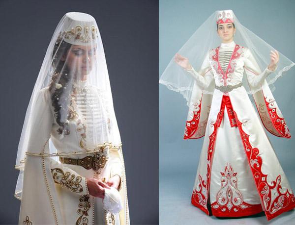 национальное свадебное платье Армении