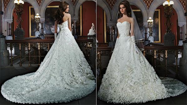 европейское платье невесты