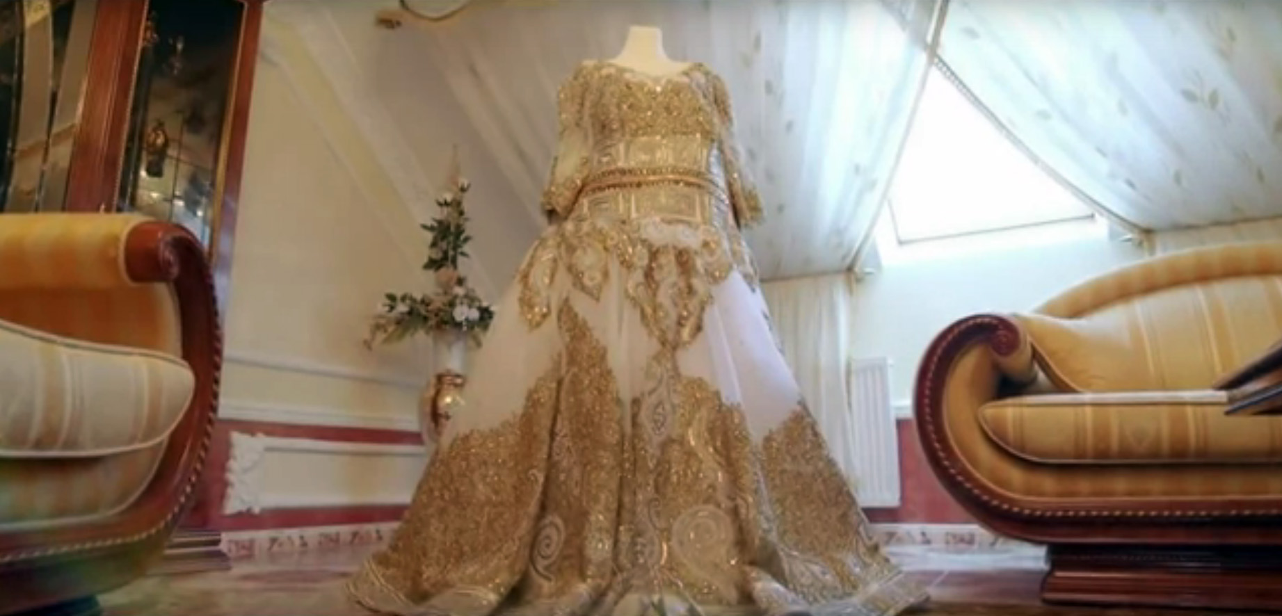 Цыганское свадебное платье Евки