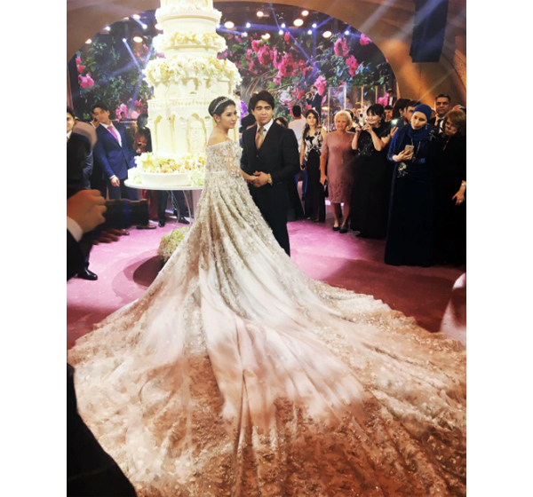 Свадьбный торт Элина Бажаева - Бекхана Мамакаева
