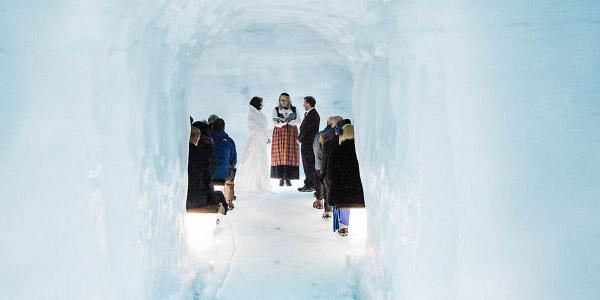 выедная церемония во льду
