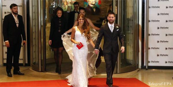 фото свадьбы Месси