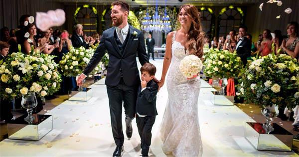 Свадьба Лео Месси и и Антонелла Рокуццо