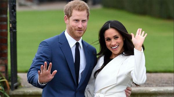 Будущая свадьба у Гарри и Меган