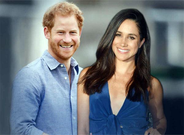 принц Гарри с Меган Маркл, будущая королевская семья